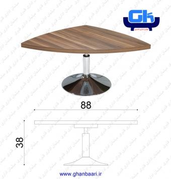 میز عسلی سه گوشه راحتیران مدل :M308