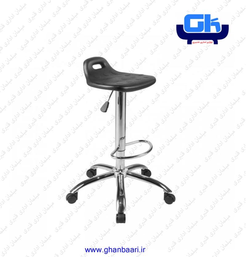 صندلی آزمایشکاهی راحتیران کد : A211