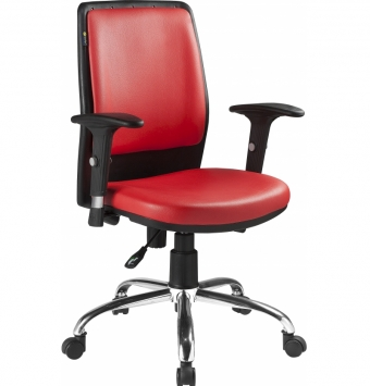 صندلی کارمندی راحتیران کد : F610
